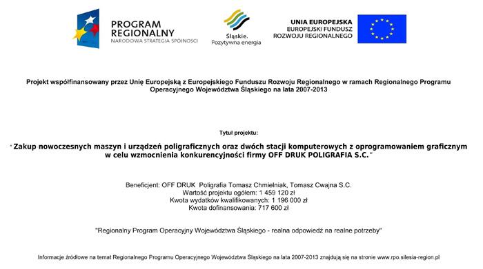 Drukarnia OffDruk Bielsko-Biała